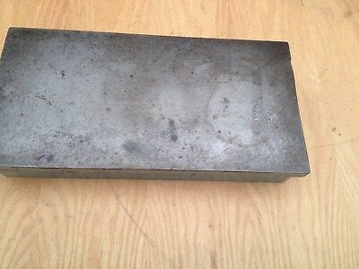Vintage Machinist cast iron Surface Plate 60lbs