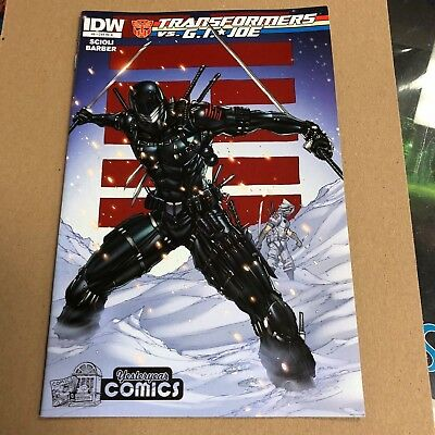 Transformers vs G.I Joe #6 Yesteryear Comics Tyndall variant.First printing.