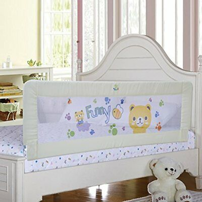 Baby Bed Rail Children Extra Long Guard Toddler Safety Fold Down Bedrail Potable