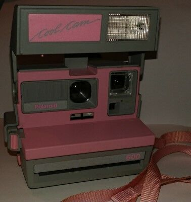 Polaroid Cool Cam 600 pink Vintage Camera
