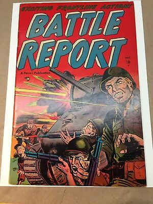 Battle Report #3 (1952) Farrell F OW/CRM Bright Glossy!