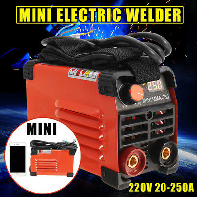 MMA-250 Handheld Mini Inverter ARC Welding Machine Tool Electric Welder