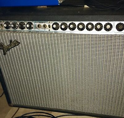 Fender twin Reverb 70's Vintage Amp Fully Working And In Good Shape Cosmetically