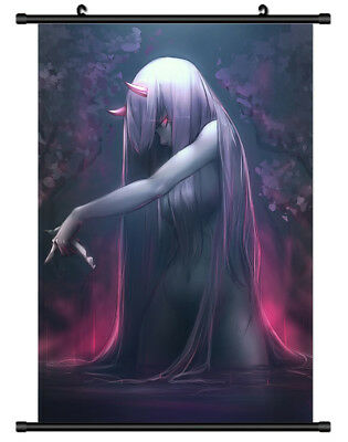 B5011 Darling in the FranXX anime manga Wall scroll Stoffposter 25x35cm