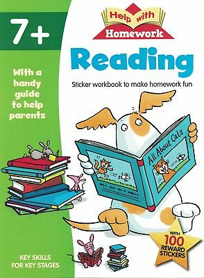 Children's Learning Activity Book: Help With Homework: Reading: Year 2 - Age 7+