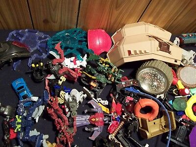 Huge lot of Vintage Toy Parts and Pieces