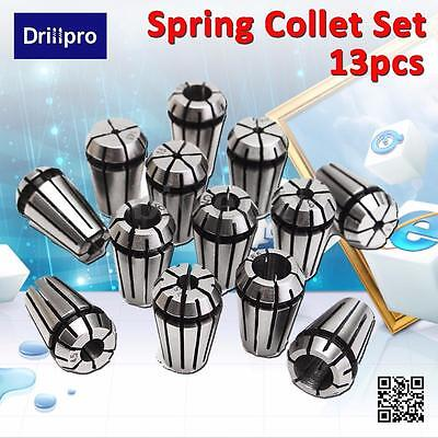 13pcs ER11 Spring Collet Set For CNC Milling Lathe Tool Engraving Machine 1-7mm
