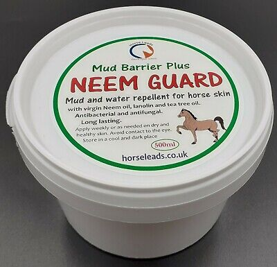 Neem Guard, Mud & Water Barrier cream 500 ml, protection from Mud Fever