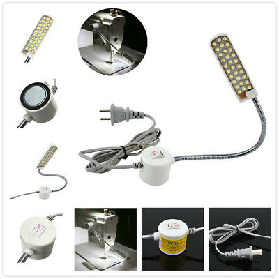 Industrial Sewing Machine 30 LED 220V Magnetic Flexible Mounting Light Lamp-Hot