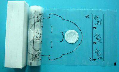 8 Rolls 36pcs/roll CPR Face Mask One Valve Mouth To Mouth Protect Face Shields