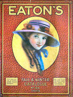 VINTAGE EATON'S DEPARTMENT STORE CATALOGUES Colour Scans, More. Download / Disc