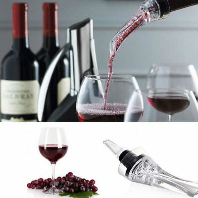 Holder Portable Acrylic New 1PC Wine Pourer Decanter Aerator Hawk Mouth Bottle