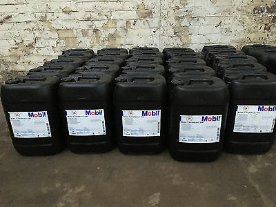 5 x 20 Litre Mobil Premium Hydraulic Oil 10W Long use by date Sealed Drums