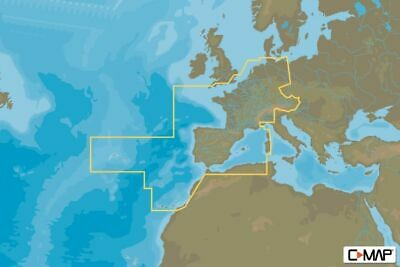 C-MAP - MAX-N+ CONTINENTAL - Central & West Europe - µSD/SD