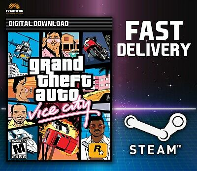 Grand Theft Auto: Vice City [PC/MAC] (2003) STEAM DOWNLOAD KEY 🎮🔑