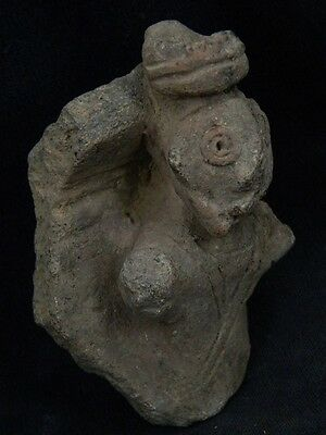 "Ancient Indus Valley Teracotta Idol Figure C.800 Bc  No Reserve """"t889"""""
