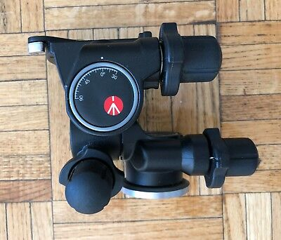 Manfrotto Junior Geared Tripod Head 410 Excellent w/o Adapter Plate