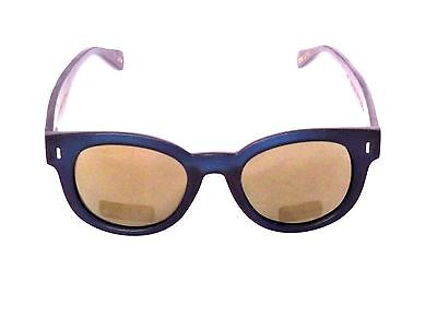 765fb86933 SUNGLASSES ECO FRIENDLY Bamboo Blue Planet Designer Women Blue Polarized  I6040X