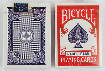 Rare Pair of Vintage USPCC Bicycle Racer Back Playing Cards New Still Sealed