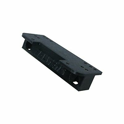 Winch Mount Plate For The Axial Wraith Stock Bumper With Predrilled Holes Black