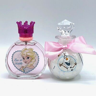 Disney Frozen Kinder Parfüm Eau de Toilette 100ml & Badeschaum 200ml /R1-4087/