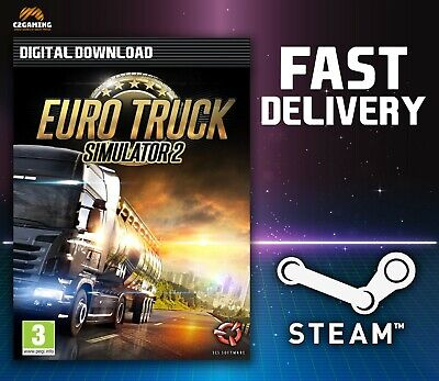 Euro Truck Simulator 2 [PC/MAC] (2013) STEAM DOWNLOAD KEY 🎮🔑