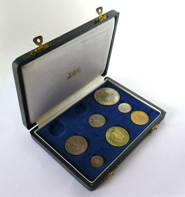 South Africa Proof Set 1961 in Original Box *NO GOLD COINS*  #JSE