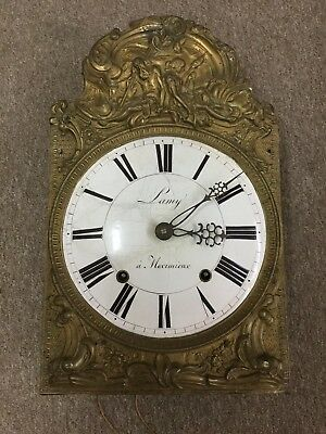 ANTIQUE FRENCH Wag On The Wall CLOCK 1830 LAMY a MEXIMIEUX