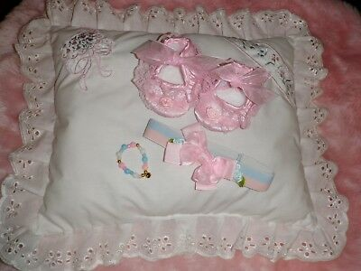 Craftymals  Scented Pillow + Access.  For Reborn Dolls 19 - 22  Inches
