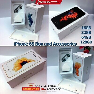 Apple iPhone 6S BOX ONLY AND FULL ACCESSORIES 16GB 32GB 64GB 128GB