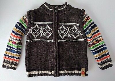 CATIMINI~MADE IN FRANCE~UNISEX~SIZE 2T~ACRYLIC/WOOL SWEATER~QUALITY~Pre-Owned