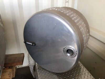 Saddle Hydraulic Oil Tank Reservoir - 35 Gallons - Aluminum - ***TANK ONLY***