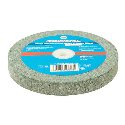 Silverline Green Silicon Carbide Bench Grinding Wheel 150 x 20mm Medium | 836851