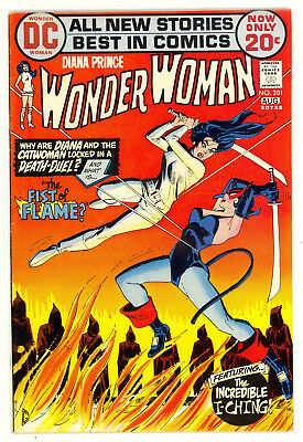 Wonder Woman     # 201        1973         VF/NM