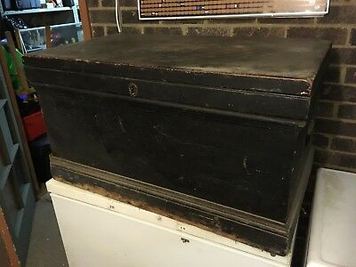Vintage Travelling Chest With Compartments