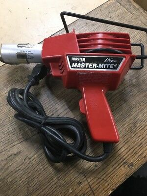 Master Appliance Master-Mite ESD 10008 Heat Gun 120V EXCELLENT USED
