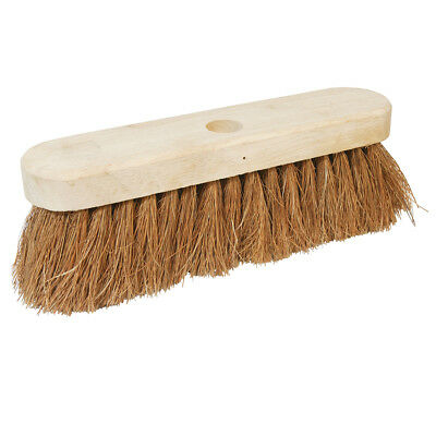 "Genuine Silverline Broom Soft Coco 254mm (10"") 