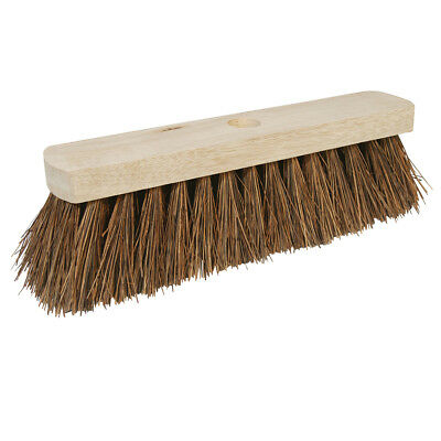 "Genuine Silverline Broom Stiff Bassine 304mm (12"") 