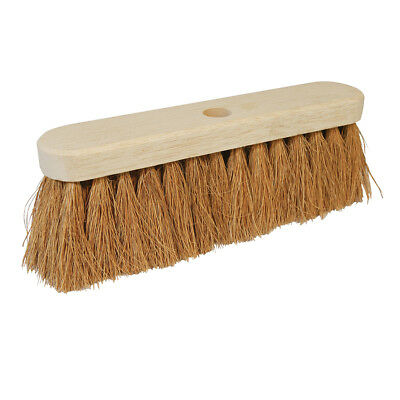 "Genuine Silverline Broom Soft Coco 304mm (12"") 
