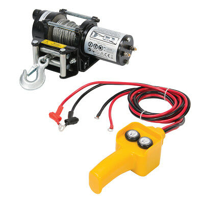 Genuine Silverline DIY 12V Electric Winch 2000lb | 748850