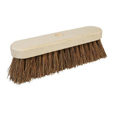 "Genuine Silverline Broom Stiff Bassine 254mm (10"") 