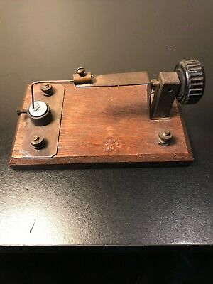 Early Crystal Radio Detector Stand-  Radio / crystal