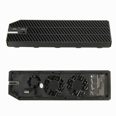 Cooling Cooler Fan Exhauster Intercooler for Microsoft XBOX ONE Dual USB Charger
