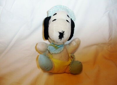 Plush stuffed Baby Snoopy - excellent condition