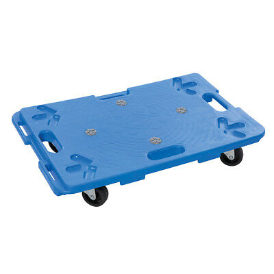 Genuine Silverline Interlocking Plastic Dolly 100kg | 407053