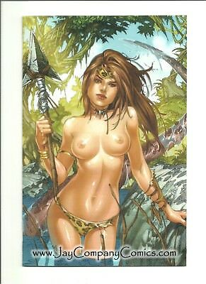 Cavewoman Prehistoric Pinups #6 Jay Co. convention variant Ebas limited to 100