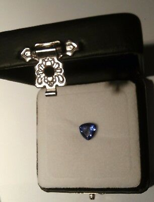 IGI Certified Tanzanite Faceted Trillion 8.05 3A 1.970 Cts (GT11430017)