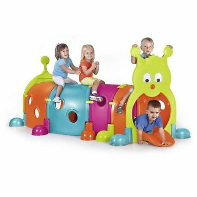 New Feber Gus Caterpillar Tunnel Febergus Kids Indoor Outdoor Activity PlayToy