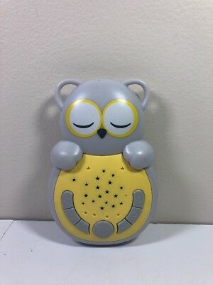 Cloud-B Sweet Dreamz On The Go Owl Night Light with Soothing Sounds