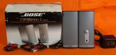 Bose Companion 2 Series II Multimedia Speaker System IOB